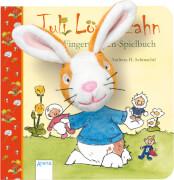 Arena - Juli Löwenzahn. Mein Fingerpuppen-Spielbuch. Pappbilderbuch, 14 Seiten, ab 1-3 Jahren. Schmachtl, AndreasH.