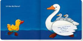 Kleine Ente Nelli - Mein erstes Klappenbuch, Pappbilderbuch, 16 Seiten, ab 1 - 2 Jahre