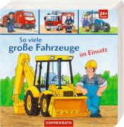 Coppenrath Verlag 62669 Buch ''So viele große Fahrzeuge im Einsatz'', ab 2 Jahre