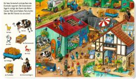 Bilder suchen  - Wörter finden: Such mit auf dem Land, Pappbilderbuch, ab 1 Jahr, 22 Seiten