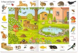 Bilder suchen - Wörter finden: So viele Tiere, Pappbilderbuch, ab 1 Jahr, 14 Seiten