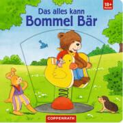 Das alles kann Bommel Bär, Pappbilderbuch, 12 Seiten, ab 1 - 3 Jahren