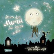 Wenn der Mond die Sterne zählt... und dem Kind beim Schlafen hilft, Pappenbuch 24 Seiten, ab 3 Jahren