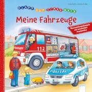 Arena - Klapp auf, schau nach. Meine Fahrzeuge. Pappbilderbuch, 10 Seiten, ab 2-4 Jahren. Sturm, Linda/Gruber, Denitza.