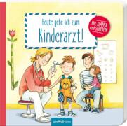 Ars Edition - Heute gehe ich zum Kinderarzt, Pappbilderbuch, 14 Seiten, ab 2-4 Jahren