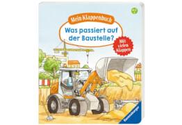 Ravensburger 43747 Rupp, Mein Klappenbuch: Baustelle