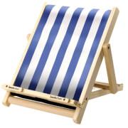 Bookchair Standard Blau-Weiß