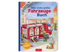 Ars Edition - Mein erstes großes Fahrzeuge-Buch, Pappbilderbuch, ab 2 Jahren, 18 Seiten