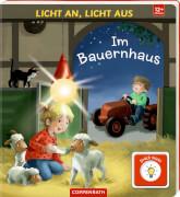 Licht an, Licht aus: Im Bauernhaus, Pappbilderbuch, ab 1 - 3 Jahre, 12 Seiten