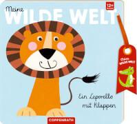 Meine wilde Welt: Ein Leporello mit Klappen, Pappbilderbuch, 12 Seiten, ab 1 Jahr