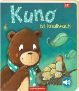 Kuno ist knallwach, Pappbilderbuch, 22 Seiten, mit Schnarchsound, ab 2 - 4 Jahre