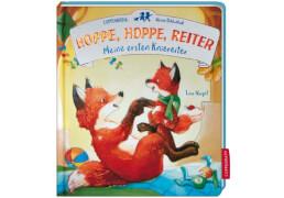 Coppenrath kleine Bibliothek: Hoppe,hoppe,Reiter-Meine ersten Kniereiter, Pappbilderbuch, 24 Seiten, ab 1 - 3 Jahre.