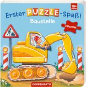 Erster Puzzle-Spaß! Baustelle, Pappbilderbuch, 12 Seiten, ab 1 - 3 Jahre