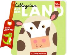 Lieblingstiere: Auf dem Land - Meine wilde Welt, Pappbilderbuch, 12 Seiten, bis 2 Jahre