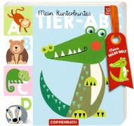 Mein kunterbuntes Tier-ABC -Meine wilde Welt, Pappbilderbuch, 28 Seiten, ab 1 Jahr