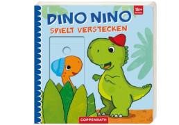 Dino Nino spielt Verstecken, Pappbilderbuch, 14 Seiten, ab 1 - 3 Jahre
