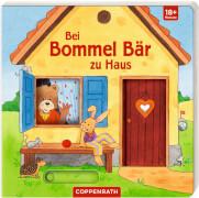 Bei Bommel Bär zu Haus, Pappbilderbuch, ca 1 - 3 Jahre, 12 Seiten