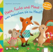 Richert, Katja/Krupinski, Janna: Hase, Fuchs und Maus # wen besuchen sie zu Haus?