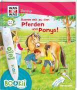 Tessloff BOOKii® WAS IST WAS Junior Komm mit zu den Pferden und Ponys!