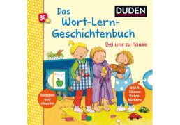 Duden 36+ Wort-Lern-Geschichtenbuch: Bei uns zu Hause. Ab 3 Jahre
