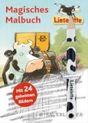 Lieselotte Magisches Malbuch mind. 24 Ex.. Ab 4 Jahre