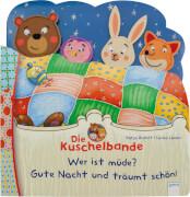 Richert, Katja/Lauber, Larisa: Die Kuschelbande # Wer ist müde? Gute Nacht und träumt schön!
