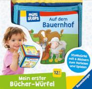Ravensburger 31770 erster Bücher-Würfel, Starter-Set, 12+m