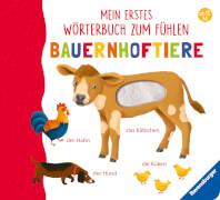 Ravensburger 43796 Teichm.,Wörterbuch Fühlen:Bauernhoftiere