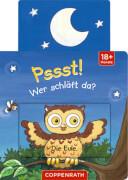 Mini-Pappe mit Schiebern: Pssst! Wer schläft da?
