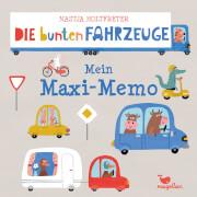Die bunten Fahrzeuge # Mein Maxi Memo