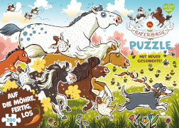 Die Haferhorde Puzzle - Auf die Möhre, fertig, los! 200 Teile