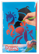 Dino World Magic Scratch Karten DRAGON