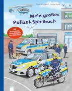 Jaekel, Franziska/Böwer, Niklas: Mein großes Polizei-Spielbuch # Mit Drehscheibe, vielen Klappen und Schiebern