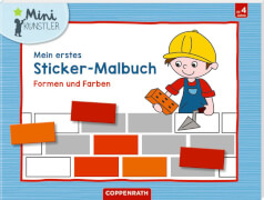 Mein erstes Sticker-Malbuch: Formen u. Farben (Mini-Künstl.)