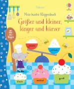 Mein buntes Klappenbuch: Größer und kleiner, länger und kürzer