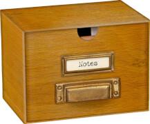 Miniatur-Karteikartenbox BücherLiebe!