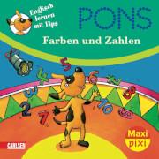 MaxiPixi 68, PONS Englisch lernen mit Fips - Farben und Zahlen