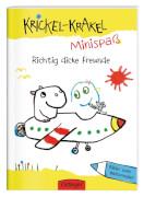 Krickel-Krakel-Minispaß: Richtig dicke Freunde Bilder zum Weitermalen