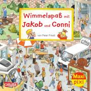 Carlsen Maxi Pixi 171: Wimmelspaß mit Jakob und Conni