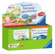 Ravensburger 69806 Mini-Bilderspaß 84 - Spannende Fahrzeuggeschichten