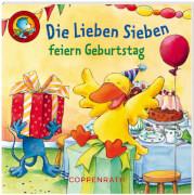 Lino-Bücher Box Nr.55 D. Lieben Sieben erleben Geschichten, ab 3 Jahre