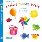 Baby-Pixi - Nr. 38: Meine bunte Welt: Kennst du die Farben? Taschenbuch, 16 Seiten, ab 12 Monaten