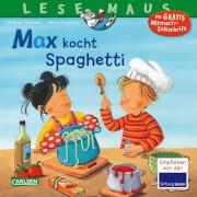 Lesemaus - Band 62: Max kocht Spaghetti, Taschenbuch, 24 Seiten, ab 3 Jahre