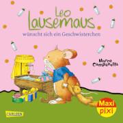 Maxi Pixi 256: Leo Lausemaus wünscht sich ein Geschwisterchen, Taschenbuch, ab 24 Monaten