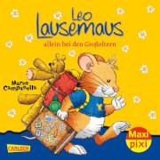 Carlsen - MaxiPixi 260 Leo Lausemaus allein bei den Großeltern sortiert (1 Stück)
