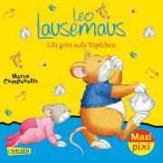 Maxi Pixi 261: Leo Lausemaus: Lili geht aufs Töpfchen, Taschenbuch, 24 Seiten, ab 3 Jahre