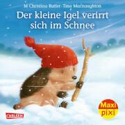 Maxi Pixi 287, Der kleine Igel verirrt sich im Schnee