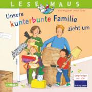 LESEMAUS 171: Unsere kunterbunte Familie zieht um