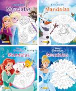 Nelson Mini-Bücher: Disney Mandalas 1-4 sortiert (1 Stück)