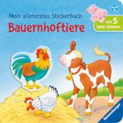 Ravensburger 026609 Mein allererstes Stickerbuch: Bauernhoftiere